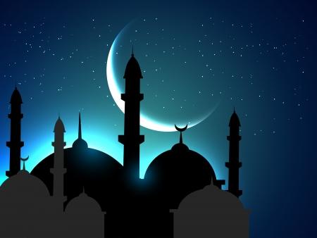 vector holy ramadan festival background
