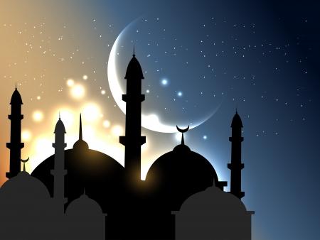 イスラムの背景ベクトル イラスト  イラスト・ベクター素材
