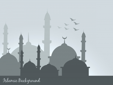 vector islamic background design illustration Vector