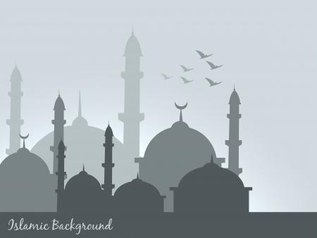 Vektor-islamischen Hintergrund, Design, Illustration Standard-Bild - 20530920