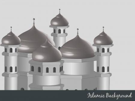 ramzaan: vector islamic background design illustration