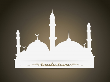 namaz: vector ramadan kareem festival background Illustration