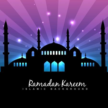 stylish ramadan kareem islamic background Stock Vector - 20531177