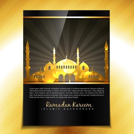 ramzaan: stylish eid and ramadan festival background