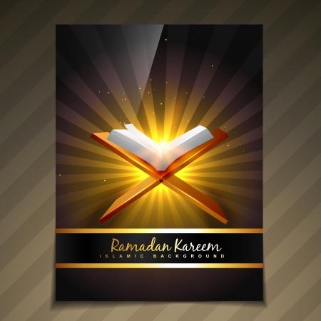 ramzaan: vector ramadan festival template design
