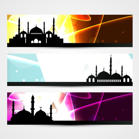 ramzaan: ramadan kareem and eid banner designs