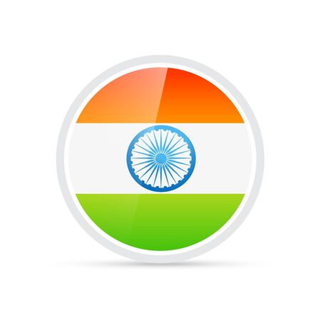 trio color indian flag Vector