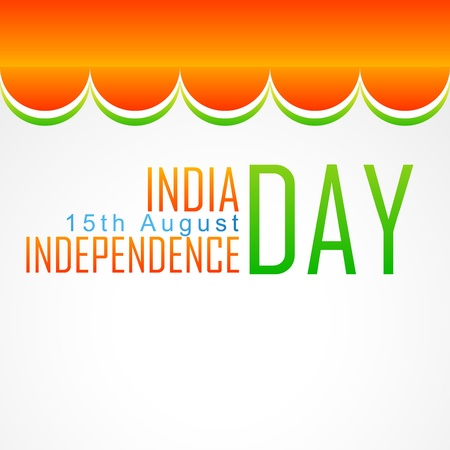 bharat: indian flag design illustration