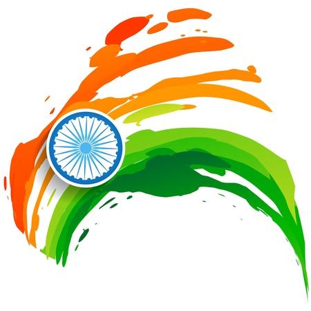 honors: stylish design indian flag