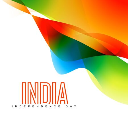 aug: stylish colorful indian background with space for your text
