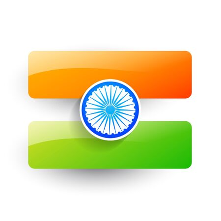 bharat: indian flag background design