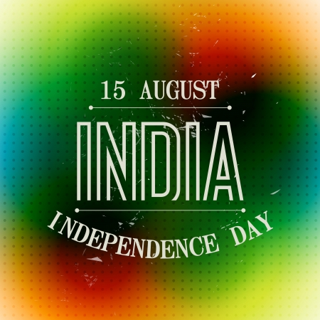 coloful: coloful indian independence day background
