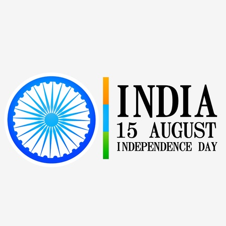 indian independence day design Vector