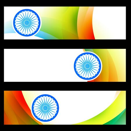 set of indian banners design Stock Vector - 20970193
