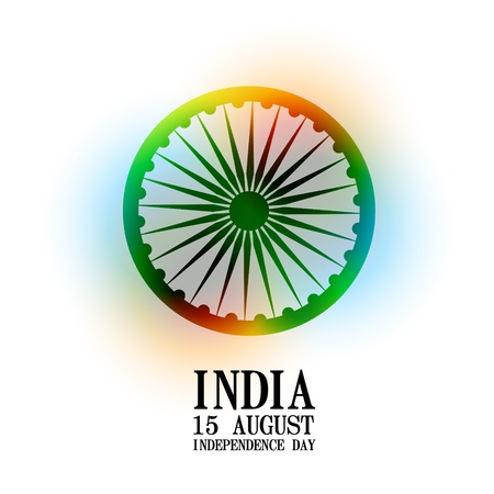 26: stylish indian independence day background design