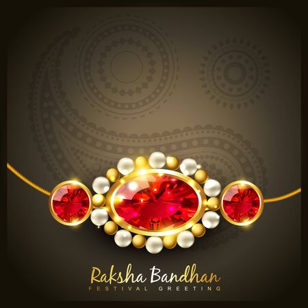 vector hindu festival of raksha bandhan Stock Vector - 21282028