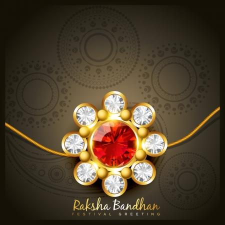 beautiful indian hindu festival of rakshabandhan Vector