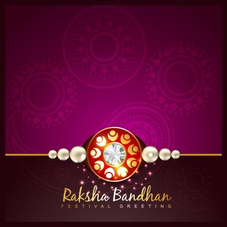 raksha: Raksha Bandhan festival di sfondo vettoriale Vettoriali