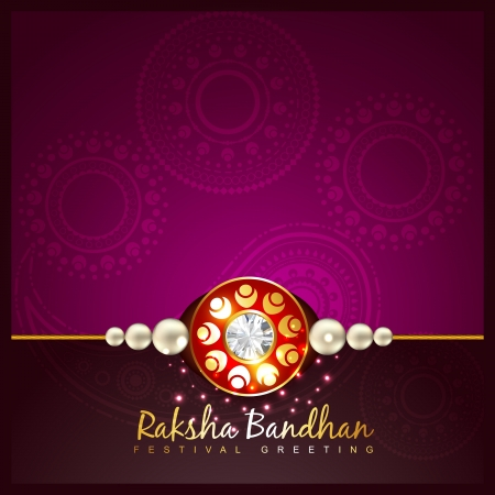 rakshabandhan: raksha bandhan festival vector background Illustration