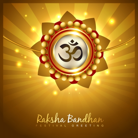 rakshabandhan: stylish vector hindu rakshabandhan festival background Illustration