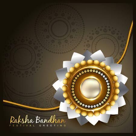 raksha bandhan festival vector background Vector