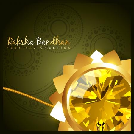 vector hindu festival of raksha bandhan Vector