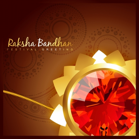 rakshabandhan: beautiful indian hindu festival of rakshabandhan