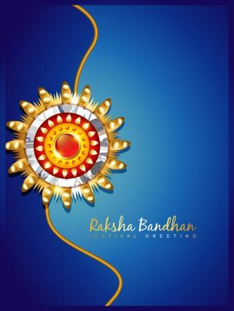 raksha: raksha bandhan design with space for your text