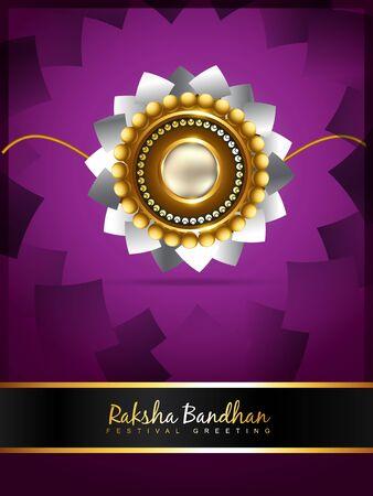 bhai: vector rakshabandhan greeting background design