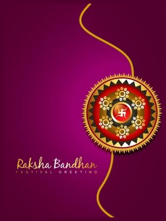 raksha bandhan: beautiful hindu festival rakhi background
