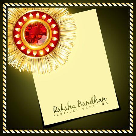pooja: vector creative raksha bandhan background Illustration