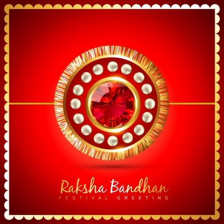 bhai: vector rakshabandhan festival background design Illustration