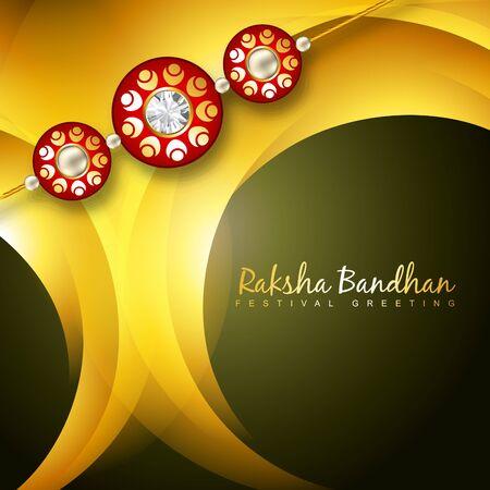 rakhi: stylish rakhi background with space for your text