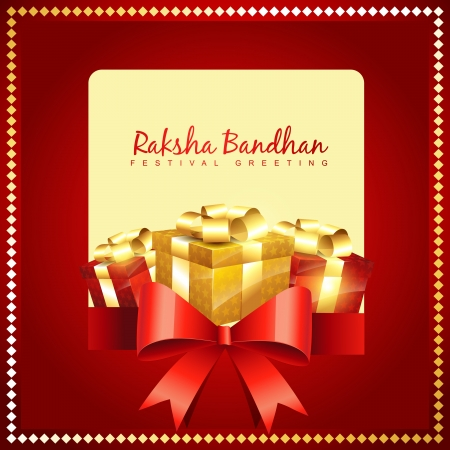 rakshabandhan: vector hindu festival of rakshabandhan Illustration