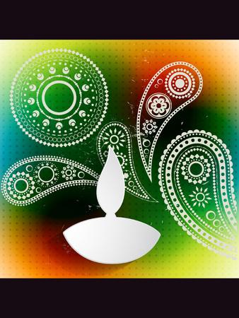 creative diwali festival vector design Stock Vector - 22464203