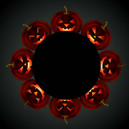 halloween night design with space for your text Stock Vector - 22757186