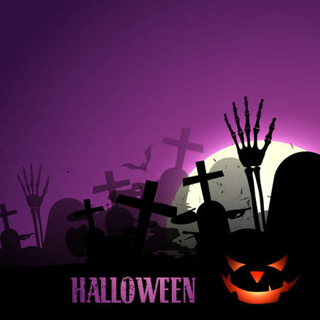 stylish halloween design with space for your text Vector