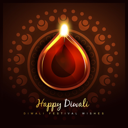 cultural festival of diwali design Stock Vector - 22817490