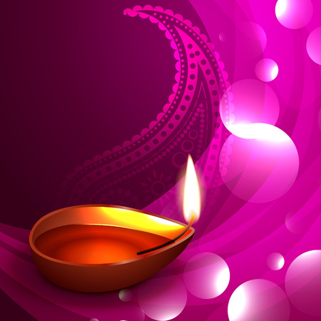 happy diwali festival greeting design Stock Vector - 22817493