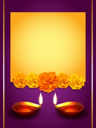 vector stylish diwali greeting design with space for your text Vectores