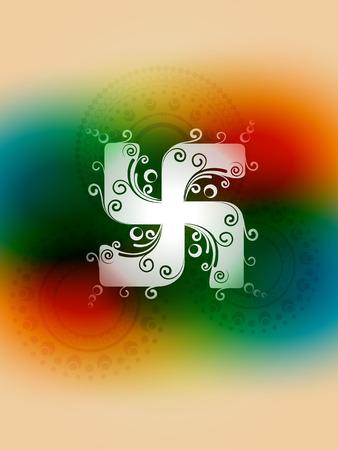 swastik: vector creative swastik symbol design