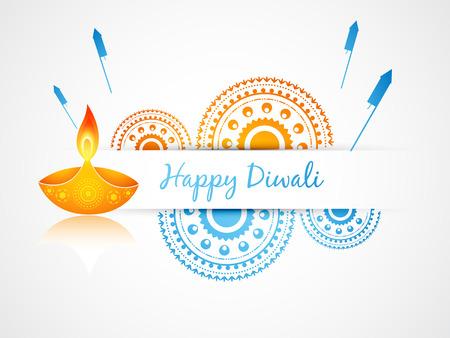 diwali greeting: vector diwali greeting design art
