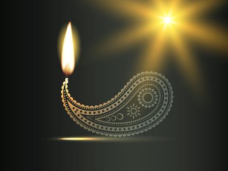 diya: vector creative diwali diya design