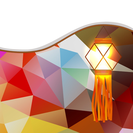 vector abstract diwali lamp design Stock Vector - 23064234