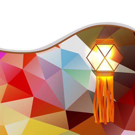 vector abstract diwali lamp design Stock Vector - 23064234