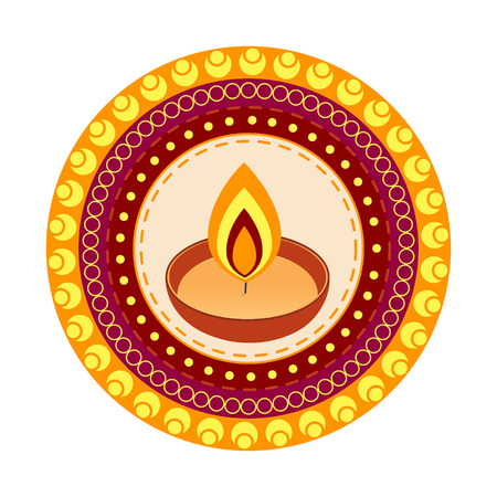 indian diwali festival vector design Vector