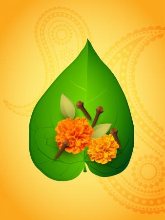 pooja: vector diwali pooja items illustration Illustration