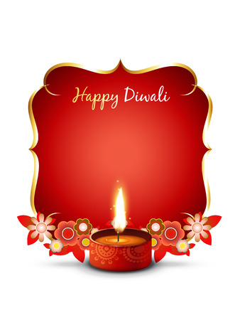festival vector: vector stylish diwali festival illustration