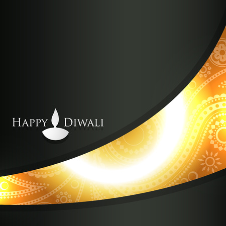 vector diwali background with space for your text Stock Vector - 23065272