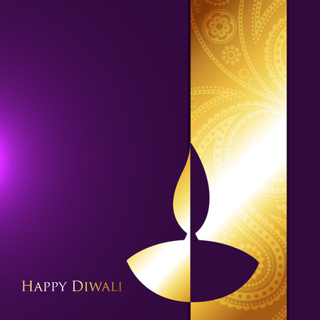 vector diwali style design with space for your text Vector
